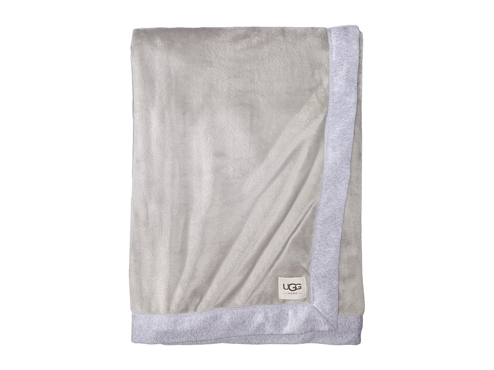 Ugg Duffield Throw (Seal Heather) Sheets Bedding