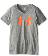 Under Armour Kids - UA Big Logo Tech™ S/S V-Neck (Big Kids)
