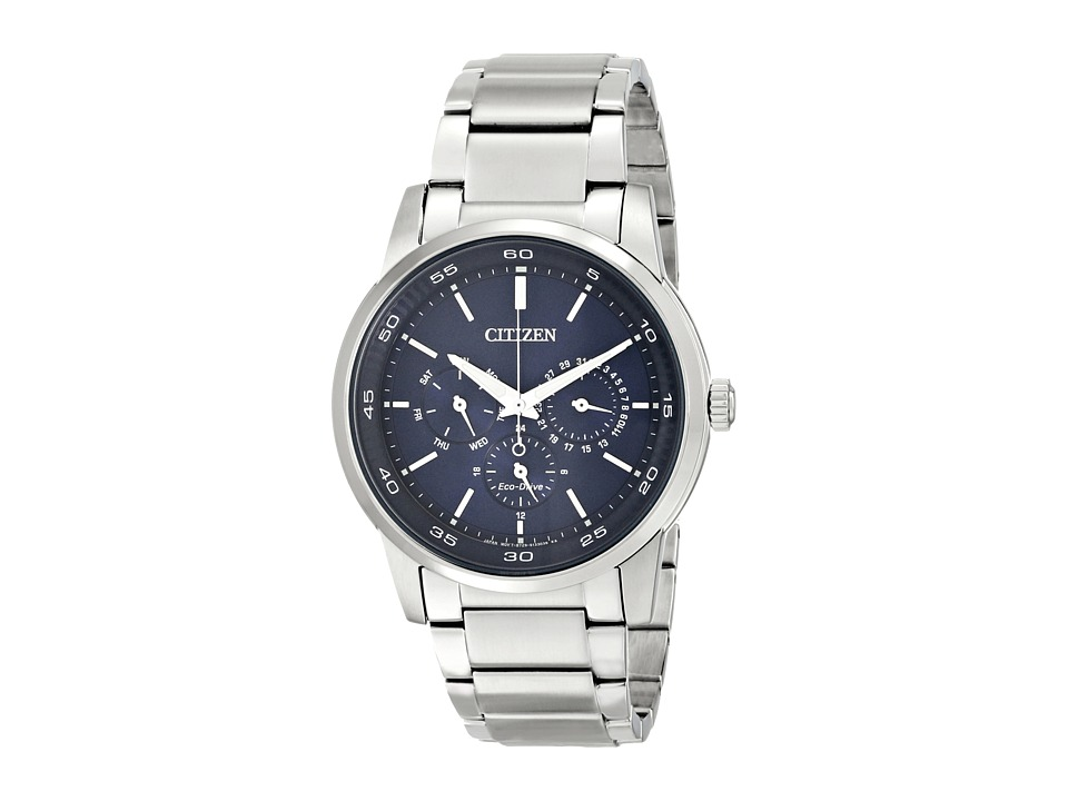 Citizen Watches - BU2010-57L Eco-Drive Dress (Silver Tone Stainless Steel) Dress Watches