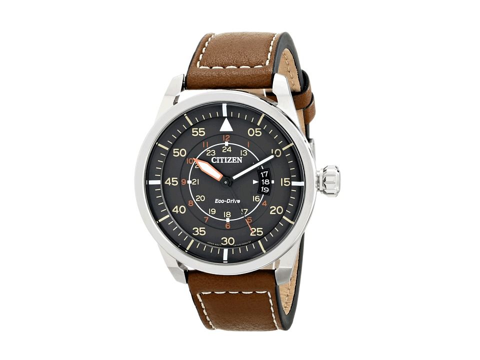 Citizen Watches - AW1361-10H Eco-Drive Avion (Silver Tone...