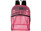 JanSport Mesh Pack (Flourscent Pink)