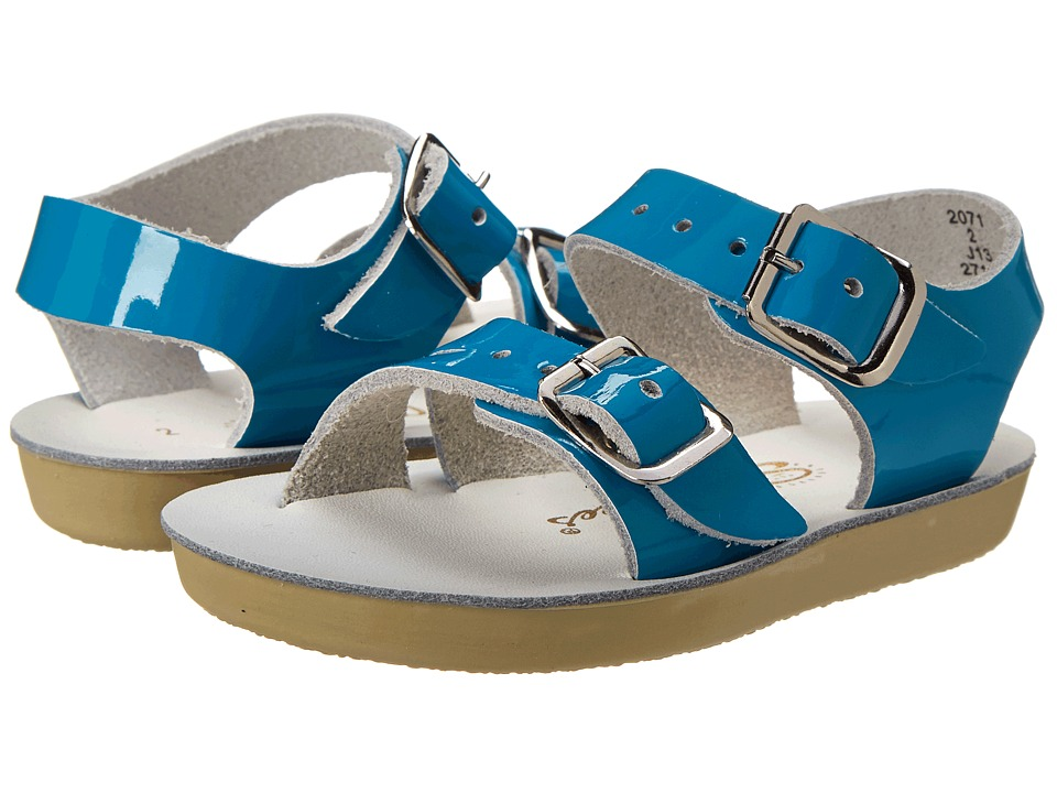 Salt Water Sandal by Hoy Shoes Sun San Sea Wees Infant/Toddler Turquoise Girls Shoes