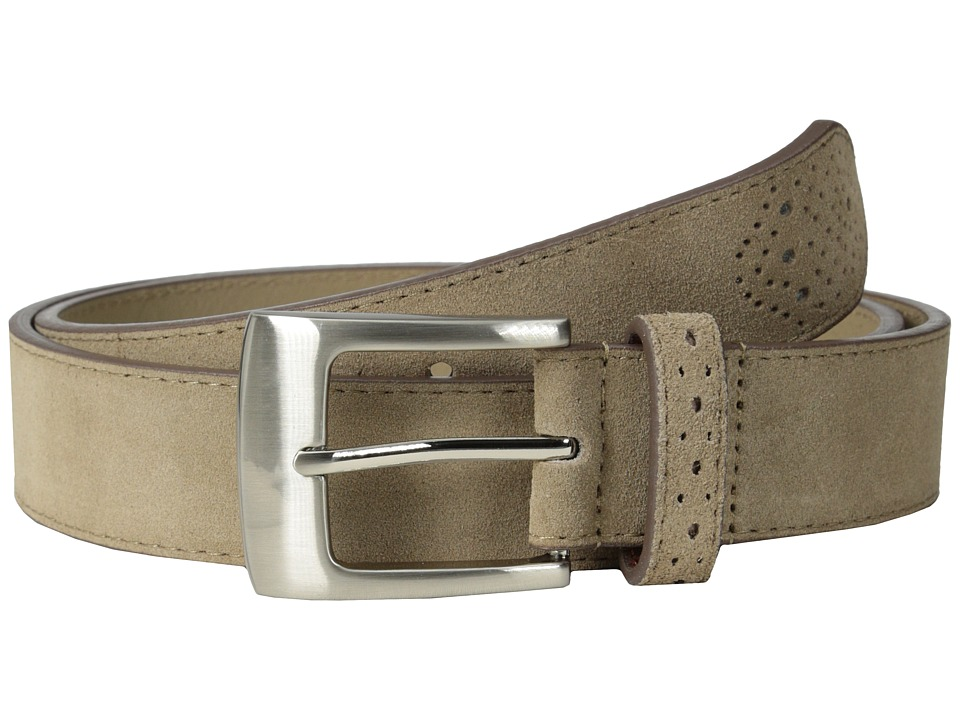 Stacy Adams 32mm Genuine Suede Leather (Sand) Men