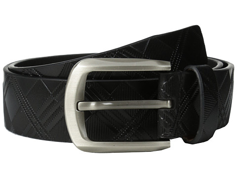 Stacy Adams 38mm Genuine Leather with Crisscross Design