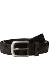 Stacy Adams - 38mm Genuine Leather with Crisscross Design