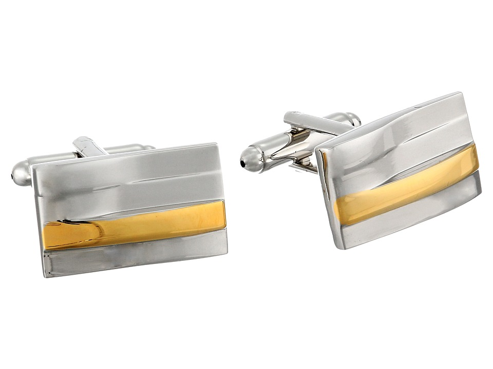 Stacy Adams - Cuff Links (Silver/Gold) Cuff Links