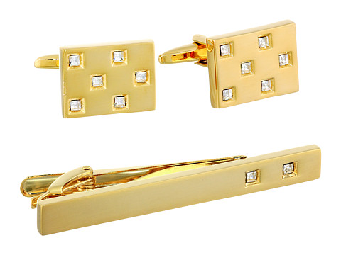 Stacy Adams Tie Clip and Cuff Link Set