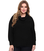 MICHAEL Michael Kors - Plus Size Thermal Cowl Neck Sweater