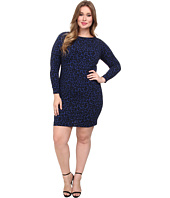 MICHAEL Michael Kors - Plus Size Ellensburg Boatneck Dress