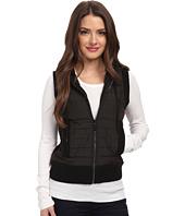 MICHAEL Michael Kors - Petite Sleeveless Puff Zip Frontt Vest