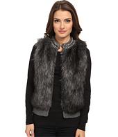 MICHAEL Michael Kors - Petite Chain Neck Fur Front Vest