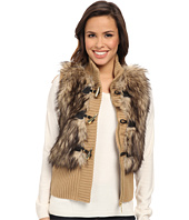 MICHAEL Michael Kors - Fur Toggle Vest