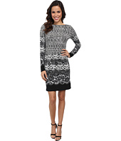 MICHAEL Michael Kors - Long Sleeve Alderton Boatneck Dress