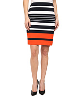 MICHAEL Michael Kors - Petite Helsinki Stripe Ponte Skirt