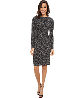 MICHAEL Michael Kors - Long Sleeve Ellensburg Boatneck Dress