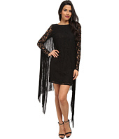 MICHAEL Michael Kors - Long Sleeve Fringe Dress