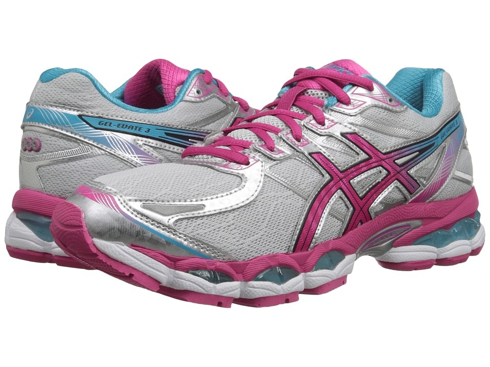 ASICS - Gel-Evate 3 (Lightning/Hot Pink/Blue) Women