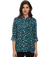 MICHAEL Michael Kors - Kasuri High-Low Button-Down
