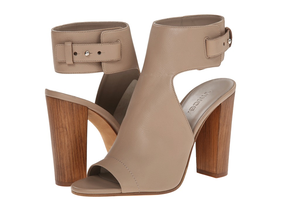 Vince Addie Taupe Foulard Calf Womens Shoes