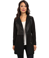 Calvin Klein Jeans - Faux Leather Shearling Biker Coat