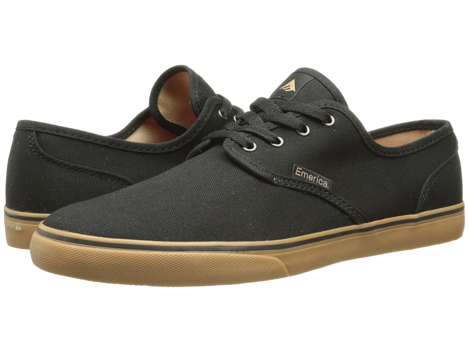 Emerica - Wino Cruiser (Black/Gum) Mens Skate Shoes