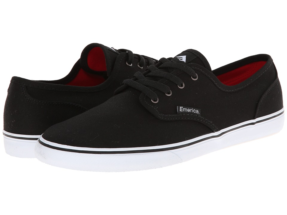 Emerica Wino Cruiser (Black/White) Men