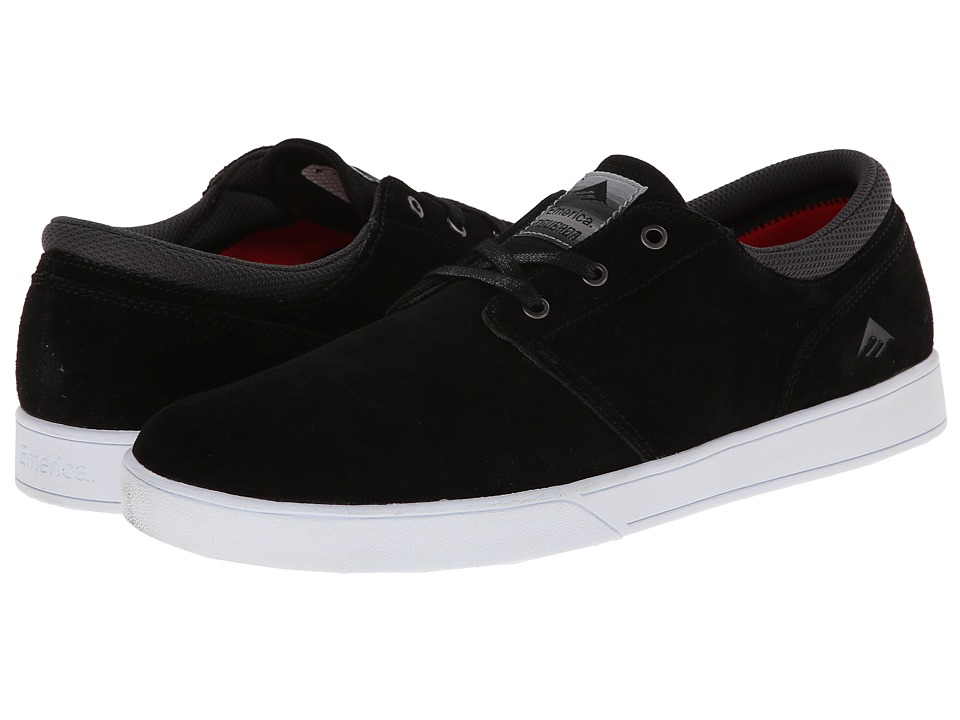 Emerica - The Figueroa (Black/White/White) Men