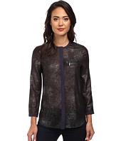 Calvin Klein Jeans - Foil Print Zip Pocket Blouse