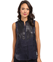Calvin Klein Jeans - Sequined Front Tuxedo Tank