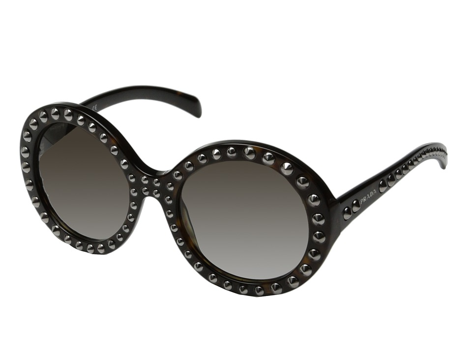 Prada 0PR 29QS Black/Gunmetal Studs Fashion Sunglasses