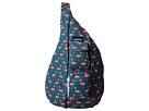 KAVU Rope Bag (Flamingo)