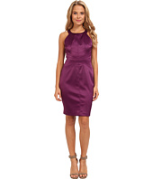Jessica Simpson - Strapless Halter Dress with Panels and CF Seam w/ Topstitching