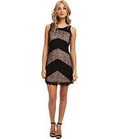 Jessica Simpson - Sleeveless Shift Dress with Tie at Back Neck