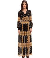 Jessica Simpson - V-Neck Printed Maxi Dress