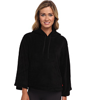 Josie - Josie Coral Fleece Hooded Popover