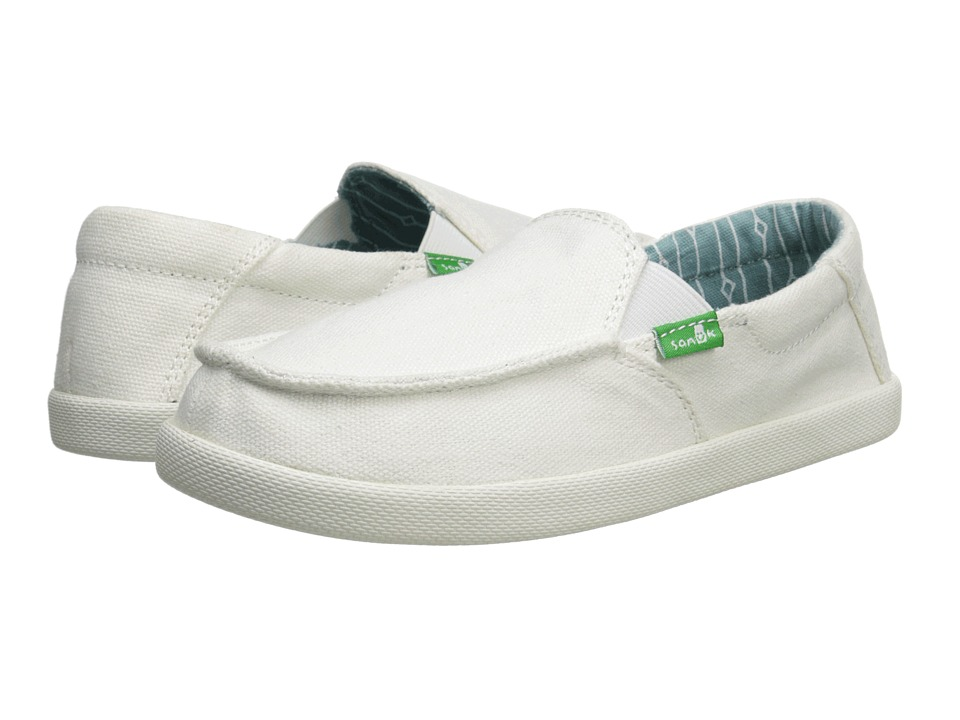 Sanuk Kids - Sideline (Little Kid/Big Kid) (White) Boys Shoes