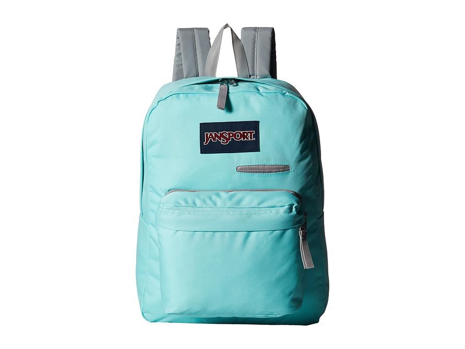 JanSport Digibreak Aqua Dash Backpack Bags