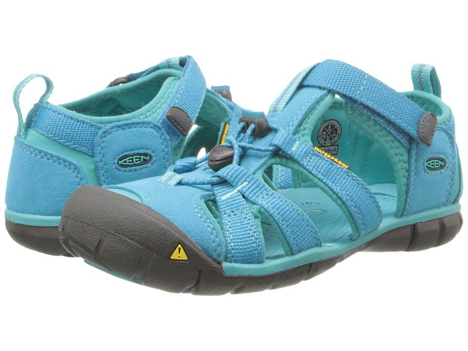 Keen Kids Seacamp II (Little Kid/Big Kid) (Baltic/Caribbean Sea) Girls Shoes