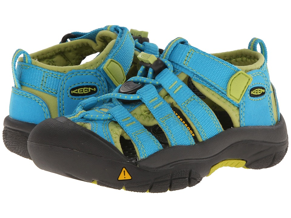 Keen Kids - Newport H2 (Toddler/Little Kid) (Hawaiian Blu...