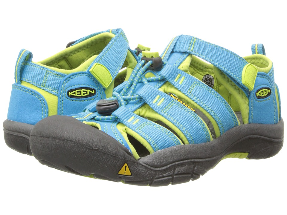 Keen Kids - Newport H2 (Little Kid/Big Kid) (Hawaiian Blu...