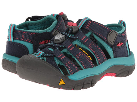 Keen Kids Newport H2 (Toddler/Little Kid) - Midnight Navy/Baltic