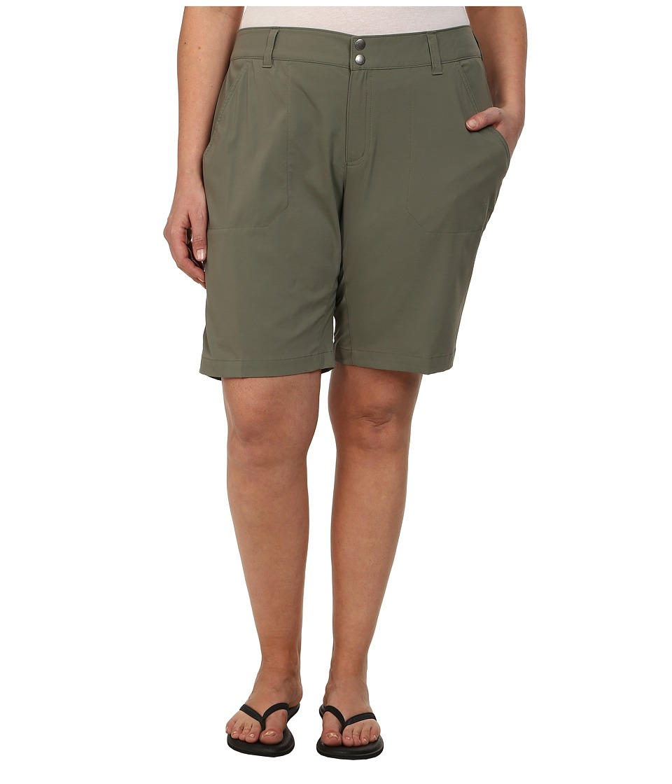 Columbia - Plus Size Saturday Trailtm Long Short (Cypress) Womens Shorts