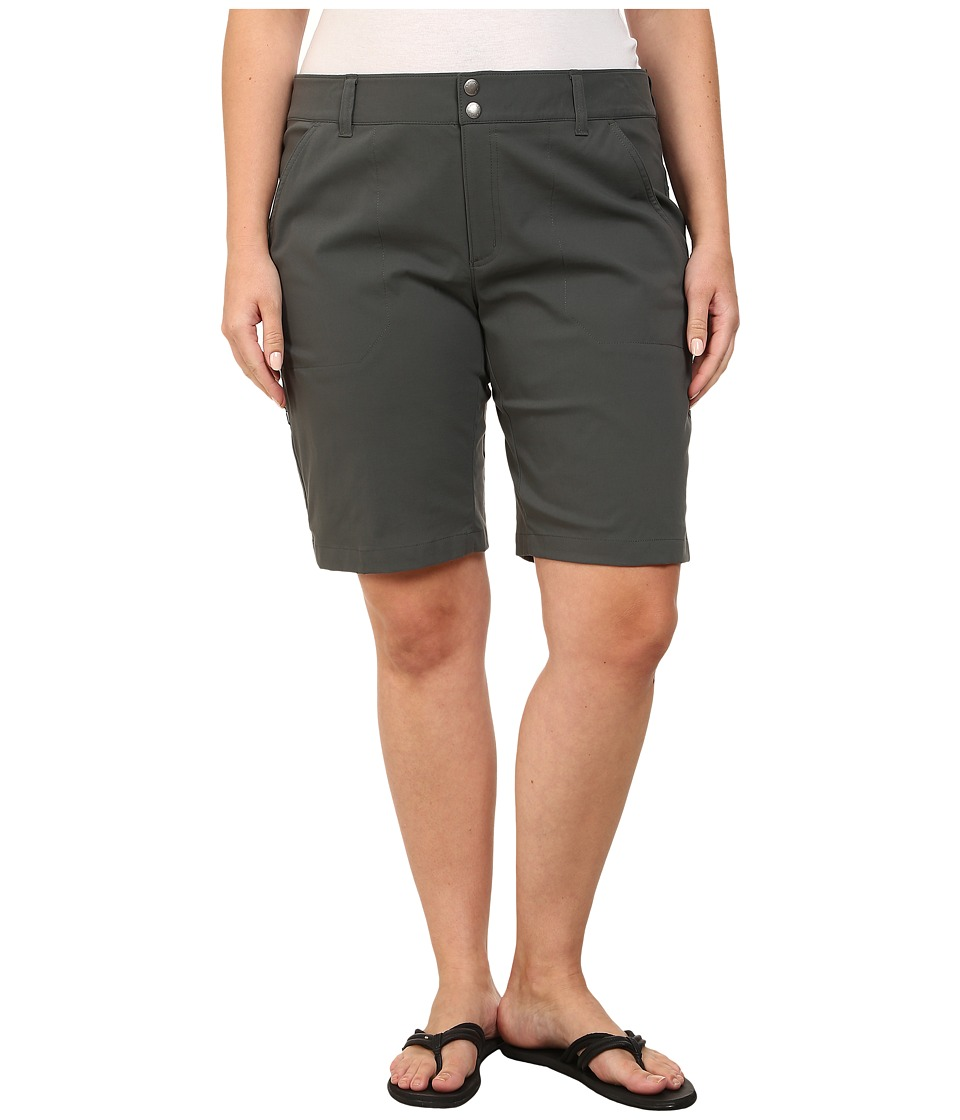 Columbia Plus Size Saturday Trailtm Long Short (Grill) Women