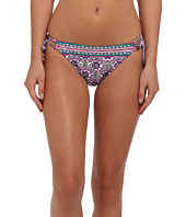 Nanette Lepore - Mallorca Mosaic Vamp String Tie Side Bottom