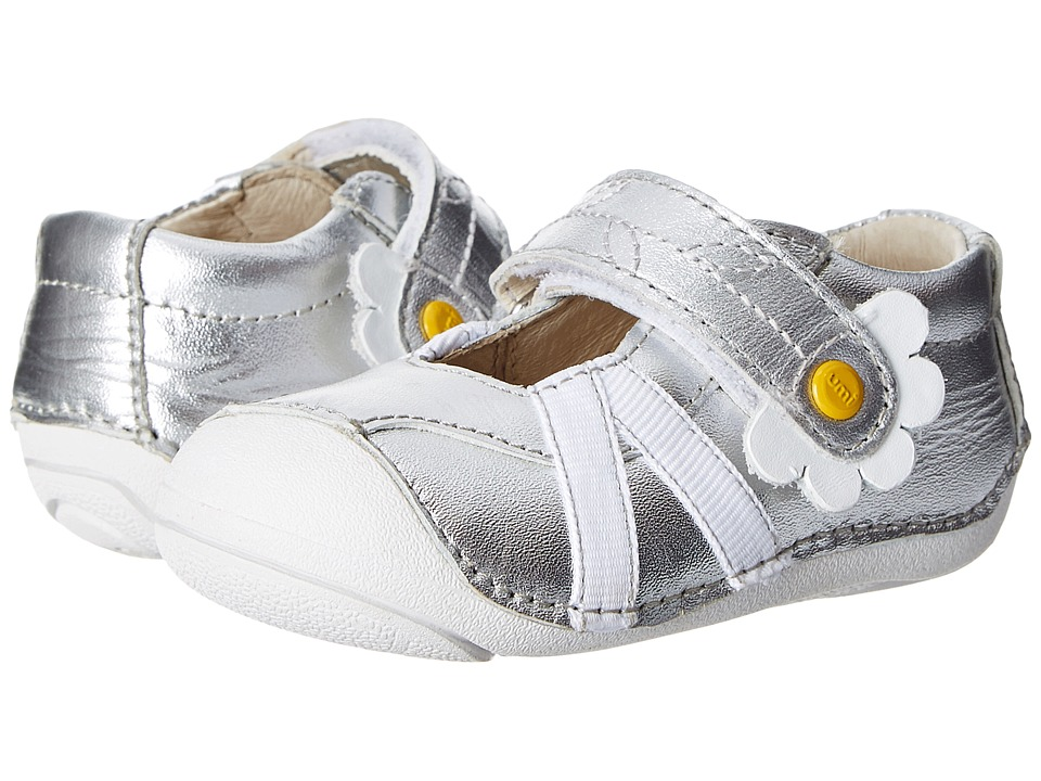 Umi Kids Cassia Infant/Toddler Silver Girls Shoes