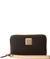 Dooney & Bourke - Carley Zip Around Credit Card Phone Wristlet
