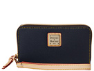 Dooney & Bourke Carley Zip Around Credit Card Phone Wristlet