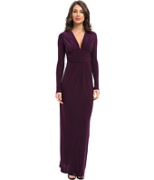 Tbags Los Angeles - Long Sleeve Deep-V Maxi