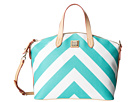 Dooney & Bourke Large Chevron Large Gabriela Satchel