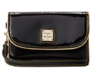 Dooney & Bourke Market Highland Holiday Patent Medium Wristlet Clutch